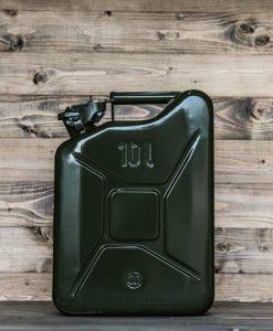 Jerrycan 10Liter groen