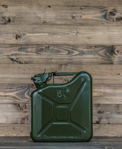 Jerrycan 5Liter groen