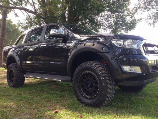 Spatbord verbreders voor Ford Ranger PX- 55 mm breed