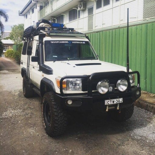 Spatbord verbreders Toyota Land Cruiser 78 - 55 mm wide