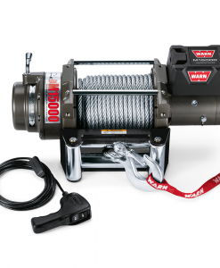 Warn - Model M15000 motor 12V/24V DC staalkabel