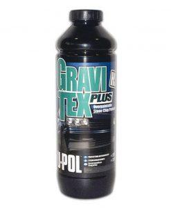 Gravitex Plus HS Stonechip Protector Black 1L