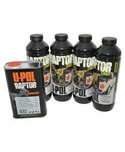 Raptor 4 Liter Zwart Pack