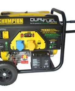 Champion 7000w duel fuel generator met E-start (220v eu)