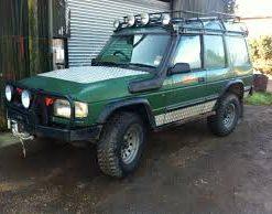 Landrover Discovery 1 van 1994-1998 zonder ABS