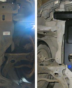 Rival Skid Plates Toyota Corolla / Allex