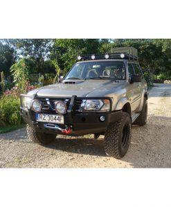 F4X4 voorbumper met bullbar Nissan Patrol Y61