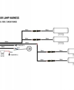 Lazer Lights - Four Lamp 'Pickup' Harness Kit