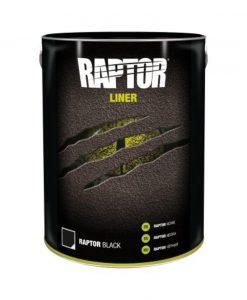 Raptor liner 5 liter zwart