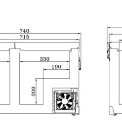 SnoMaster - Classic Series SMDZ-CL56D