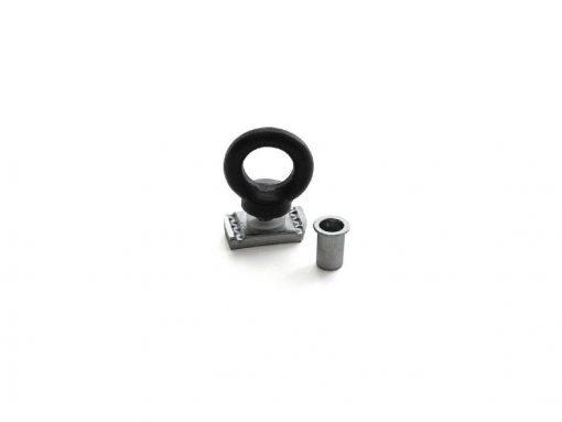 FRONT RUNNER - BLACK TIE DOWN RINGS MALE