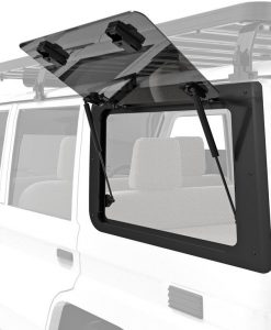 FRONT RUNNER - TOYOTA LAND CRUISER 70 GULLWING WINDOW / LEFT HAND SIDE GLASS