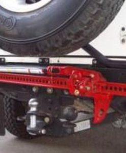 FRONT RUNNER - LAND ROVER DEFENDER REAR BUMPER BRACKET FOR HI-LIFT JACK 1.2M