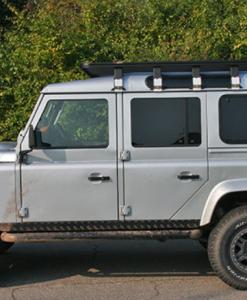 Land Rover Defender 110 UPRACKS roofrack - dakrek 285 X 148 cm.