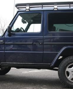 Mercedes G klasse 3 deurs UPRACKS roofrack - dakrek 214 X 148 cm.