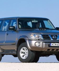 Nissan Patrol Y61 - 5 deurs UPRACKS roofrack - dakrek 214 X 129 cm.