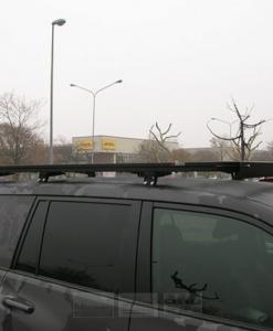 Toyota Landcruiser (prado) 120 - 150 UPRACKS roofrack - dakrek 214 X 129 cm.