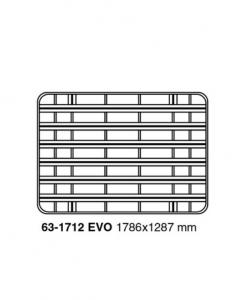 Nissan Patrol Y60 - 3 deurs - hoog dak, UPRACKS roofrack - dakrek 179 X 129 cm.