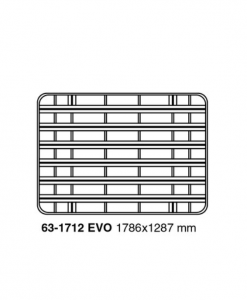 Nissan Patrol Y61 - 3 deurs UPRACKS roofrack - dakrek 179 X 129 cm.