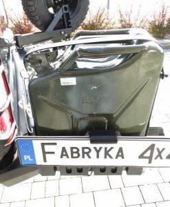 F4X4 - 20L STALEN JERRY CAN HOUDER FORD RANGER T6 15-19 3.2 DIESEL