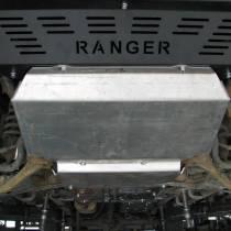F4X4 - MOTORBESCHERMING VOOR BUMPER F4X4 FORD RANGER T6 11-15 2.2 DIESEL