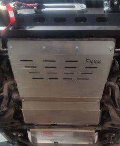 F4X4 - MOTORBESCHERMING VOOR BUMPER MITSUBISHI PAJERO III 99-06 BENZINE