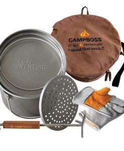 All4Adventure CampBoss Cooking Bundle